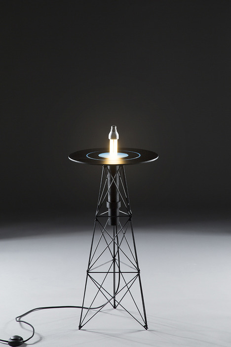 Impressive Electromagnetic Table By Florian Dussopt