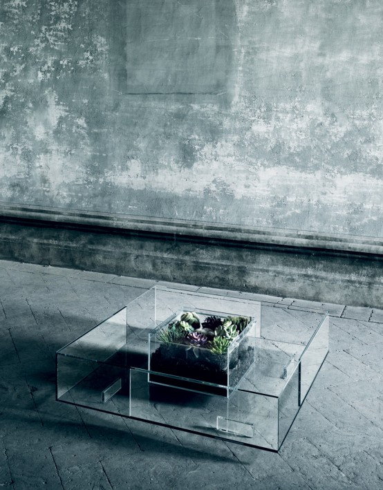 36 Impressive Glass Top Coffee Tables That Inspire