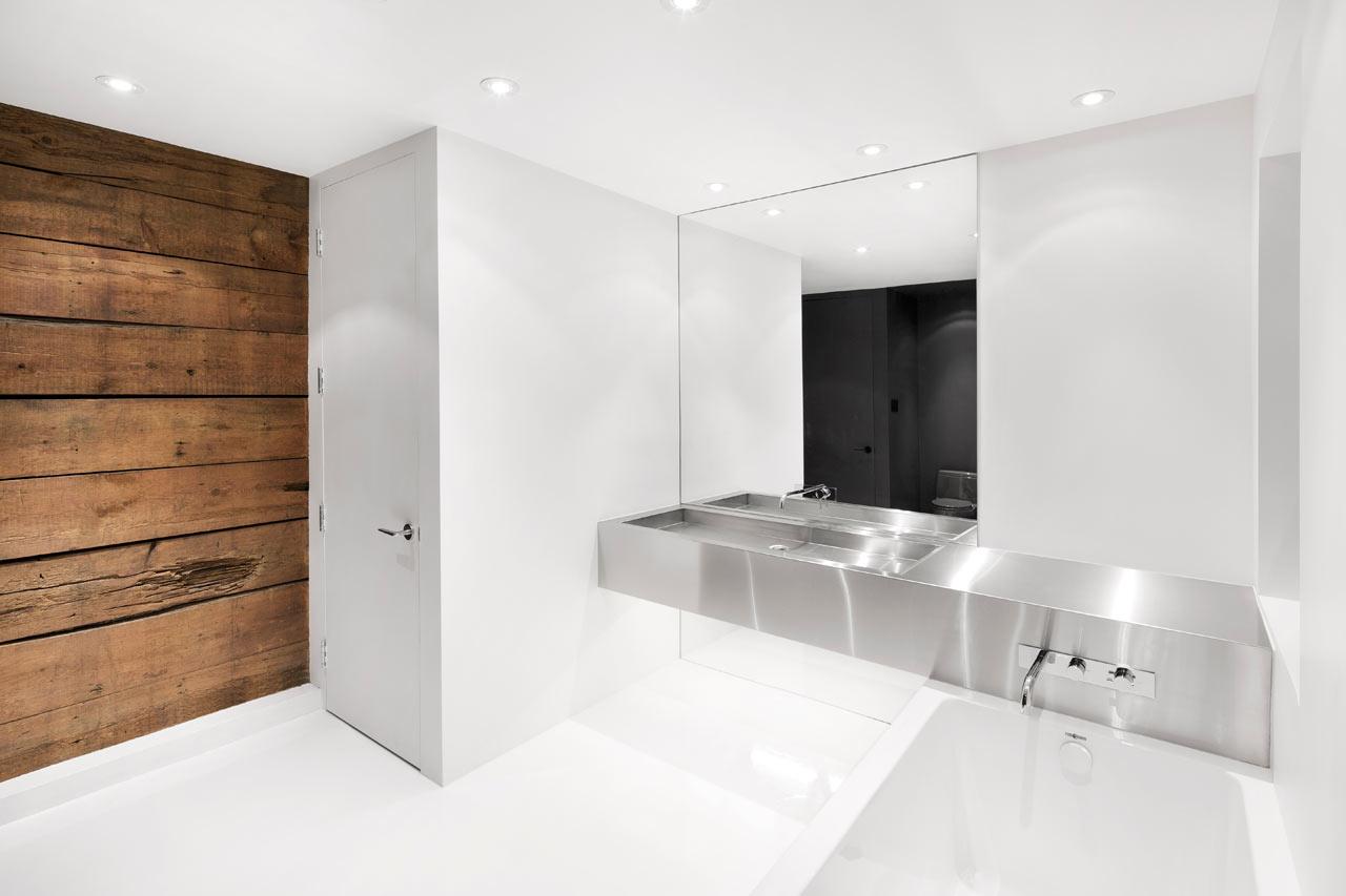 Impressive Minimalist House With Original Details Left