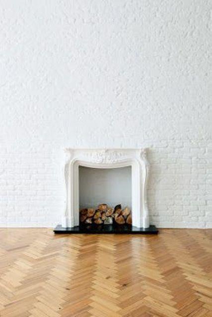 37 impressive whitewashed brick walls designs digsdigs. Black Bedroom Furniture Sets. Home Design Ideas