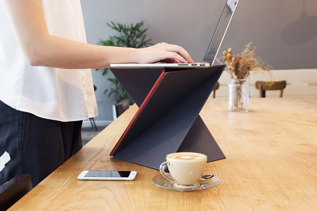 Increase Your Productivity: Sit-Stand Foldable LEVIT8 Desk