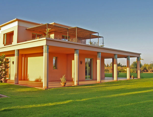 Indian art deco house design marrakesh residence digsdigs for Indian house design architect