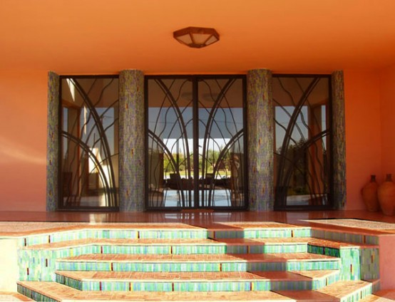 Indian Art Deco House Design Marrakesh Residence Digsdigs