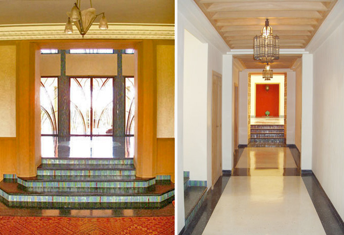Indian Art Deco House Design Marrakesh Residence Digsdigs