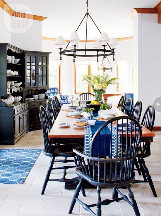 Blue Living Room Decor