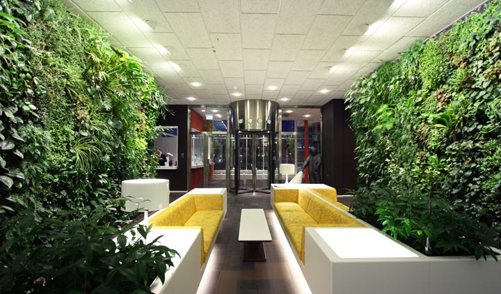 10 Cool Indoor Vertical Garden Design Examples | DigsDigs