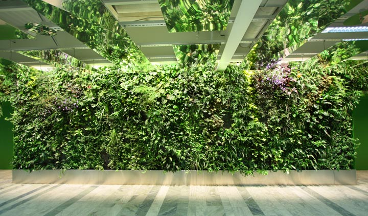 Diy vertical gardens for small spaces for Vertical garden design