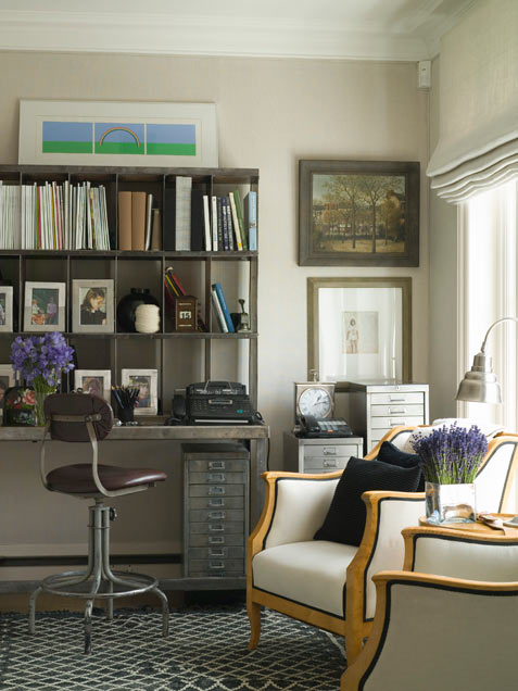 50 cool neutral room design ideas digsdigs Industrial home office design ideas