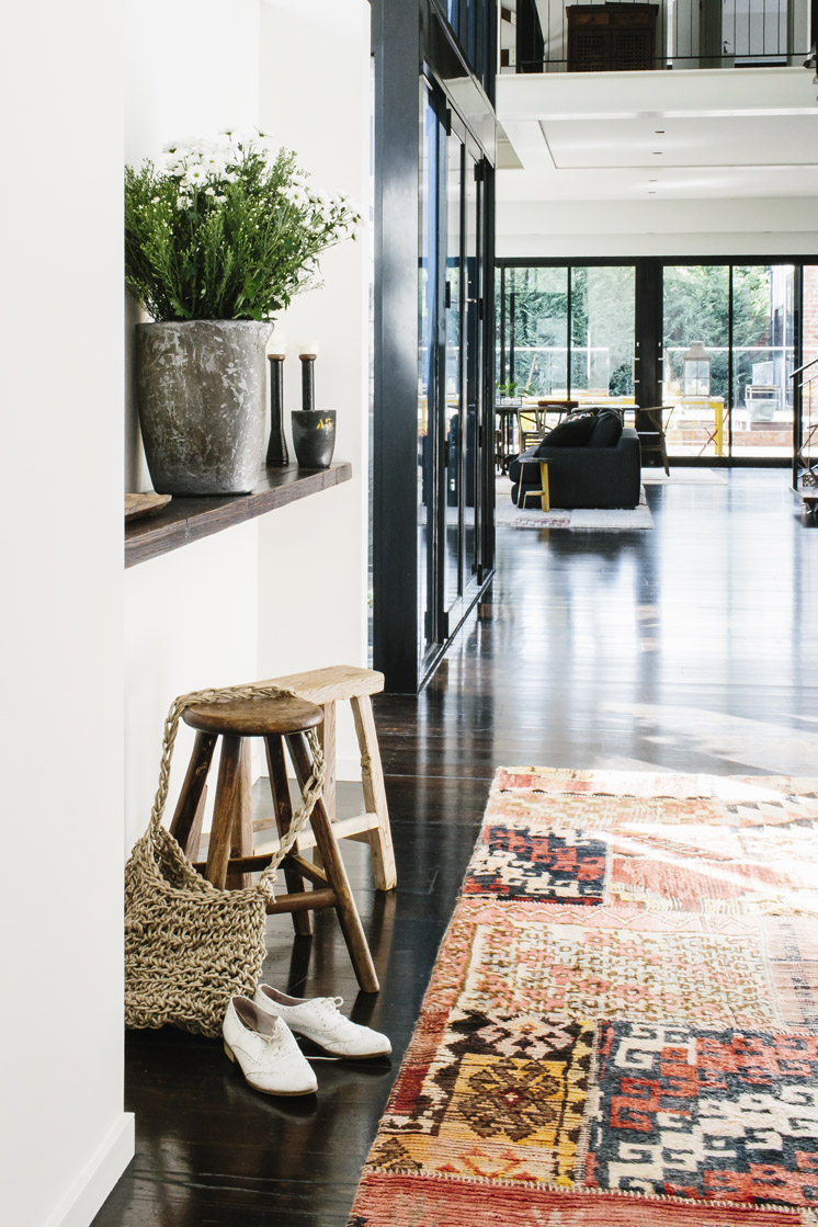 Industrial And Ethnic Loft Of An Old Warehouse