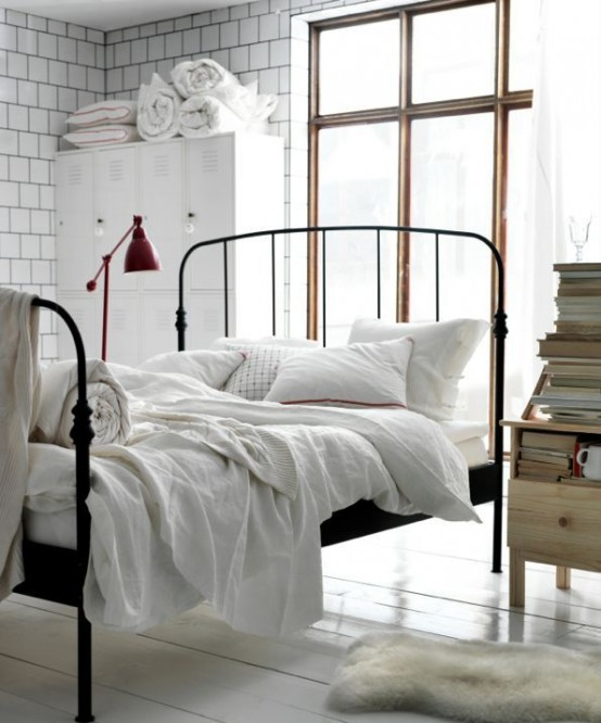 Industrial Bedroom Designs That Inspire. 33 Industrial Bedroom Designs That Inspire   DigsDigs