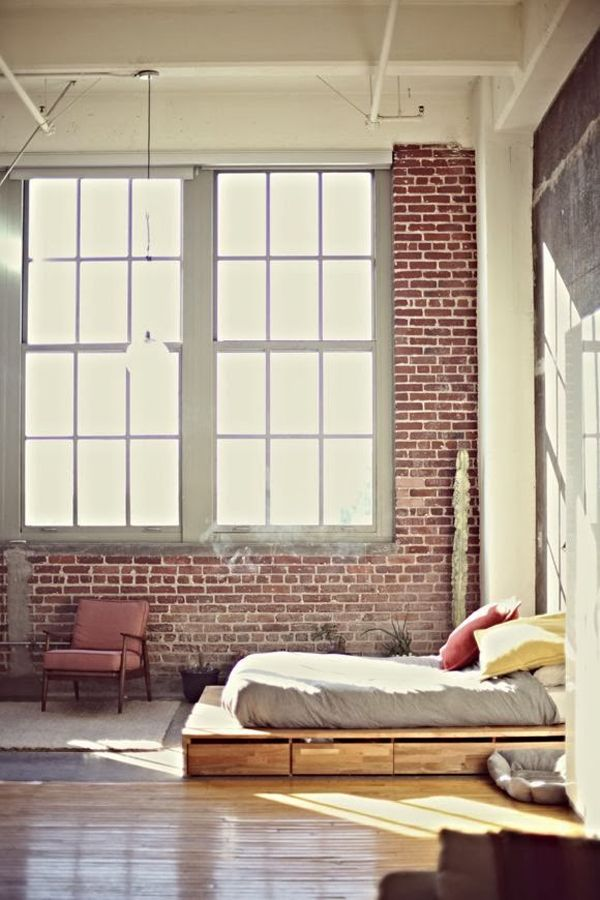 Http Www Digsdigs Com 33 Industrial Bedroom Designs That Inspire