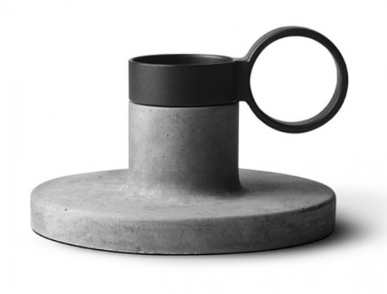 Industrial Candle Holders Collection Of Polystone
