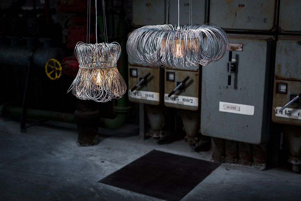Picture Of industrial cloche and roundabout lamp series  2