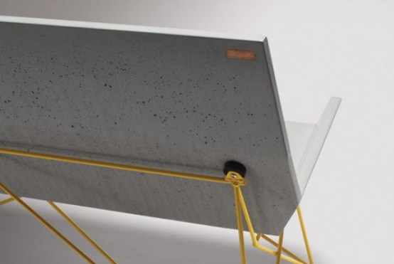 Industrial Furniture Line Of Steel And Concrete By Hard Goods
