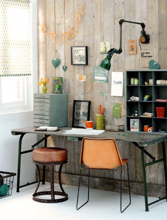 26 industrial home offices that blow your mind - digsdigs