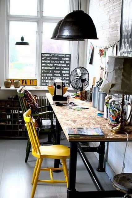 26 Industrial Home Offices That Blow Your Mind