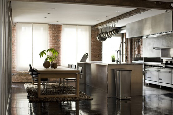 Merveilleux Industrial Kitchen Designs