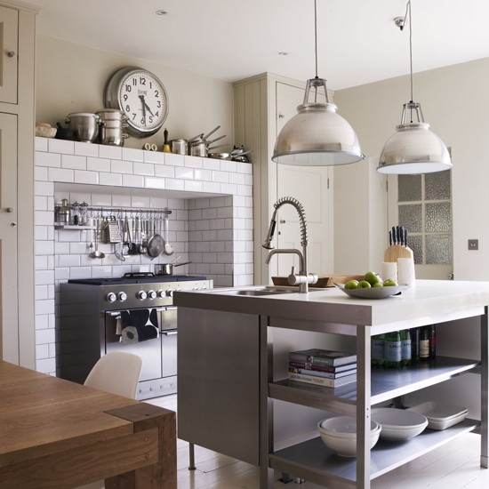45 Cool Industrial Kitchen Designs That Inspire | DigsDigs