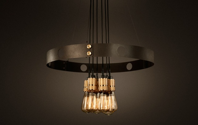 Industrial Though Refined Hero Light From Gun Metal