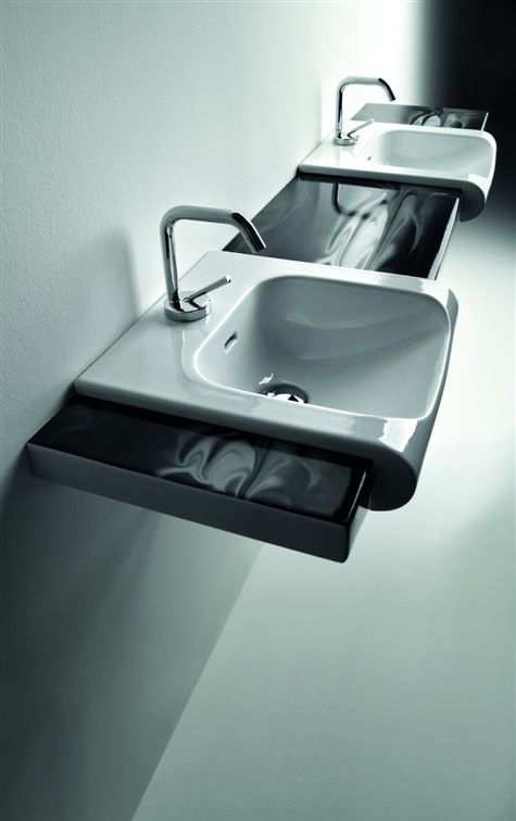 Inka Project Double Washbasin
