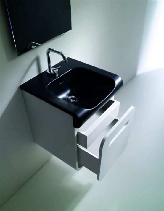 Inka Project Washbasin With Wall Module