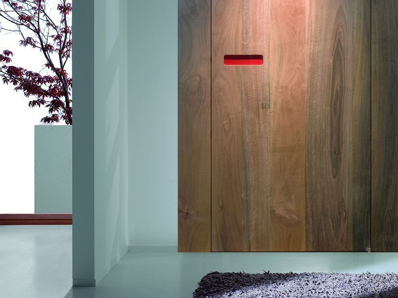Sliding Door Handles >> Innovative Interior Wooden Doors with No-Handle Opening System - DigsDigs