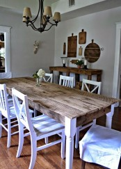 Inspiring And Cute Vintage Dining Rooms And Zones