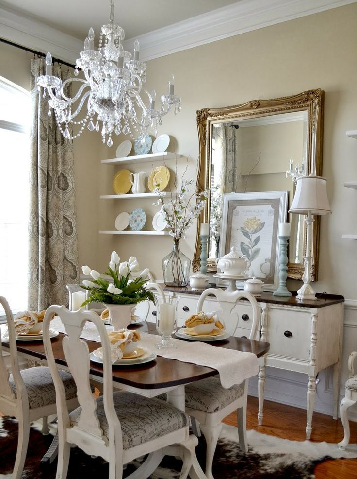 Picture of inspiring and cute vintage dining rooms and zones for Cute small dining rooms