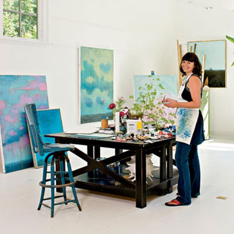 Home Art Studio Furniture Extraordinary 40 Inspiring Artist Home Studio  Designs Digsdigs Decorating Inspiration