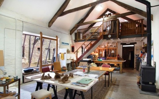 22 Home Art Studio Design and Decorating ...