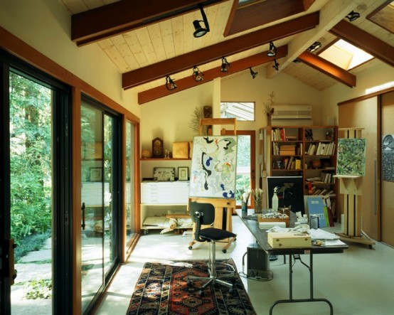 Inspiring Artist Home Studio Designs