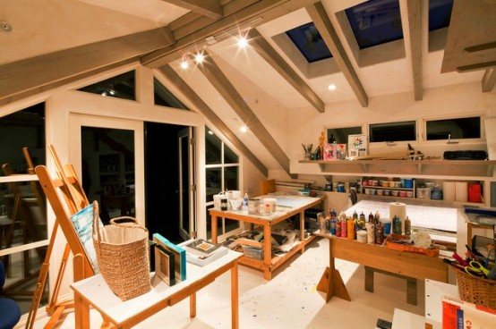 Superieur Inspiring Artist Home Studio Designs