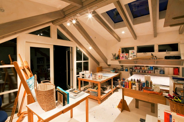 40 inspiring artist home studio designs digsdigs - Studio interior design ...