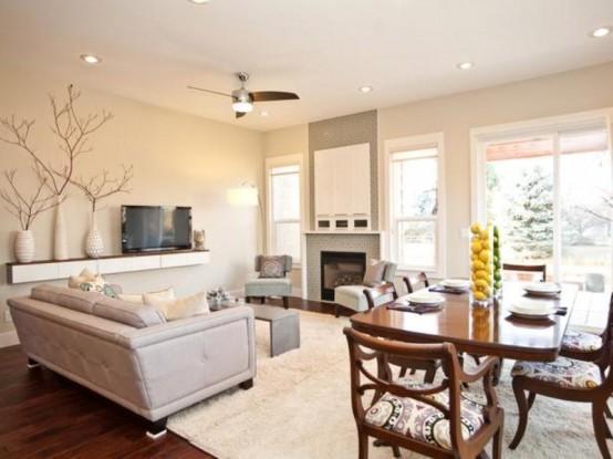 Inspiring Beige Living Room Designs