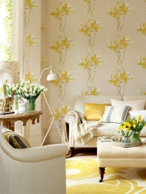 15 Inspiring Beige Living Room Designs