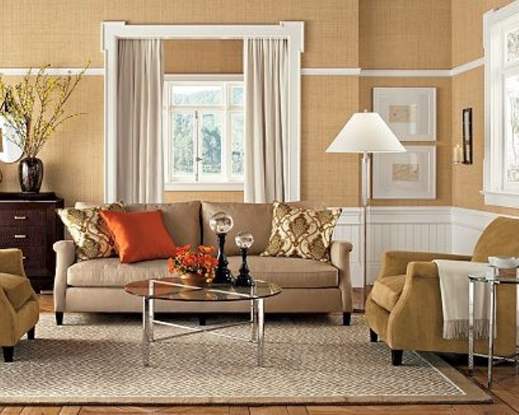 15 inspiring beige living room designs digsdigs for Beige and brown living room ideas