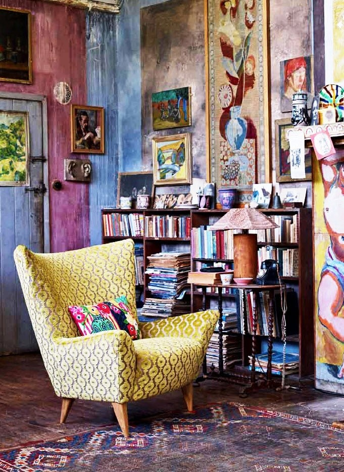 51 inspiring bohemian living room designs digsdigs for Lounge decor inspiration
