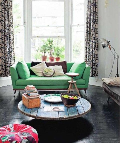 Inspiring Bohemain Living Room Designs