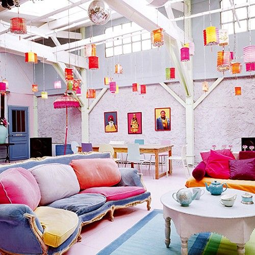 Colorful Boho Room: 85 Inspiring Bohemian Living Room Designs