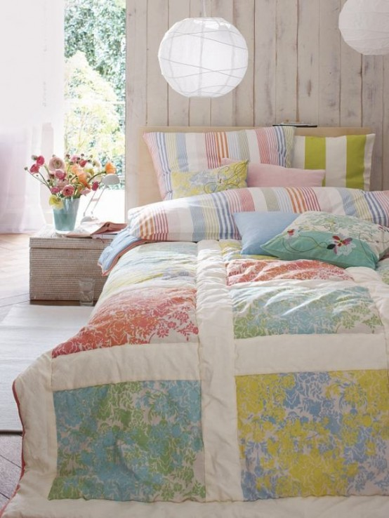 Interior Summer Bedroom Ideas cheerful summer interiors 49 inspiring fresh bedroom designs