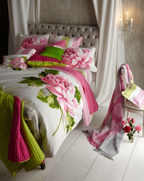 Cheerful Summer Interiors: 49 Inspiring Fresh Summer Bedroom Designs