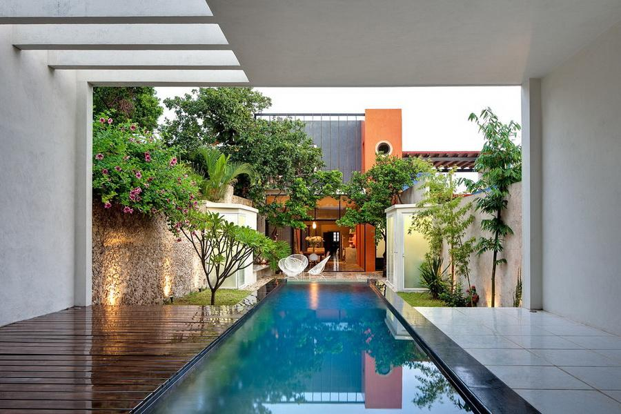 Inspiring Mexico Residence Built With Original Maya Tools