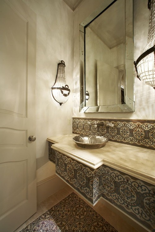 Inspiring Moroccan Bathrooms