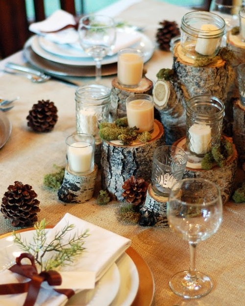 24 Inspiring Rustic Christmas Table Settings