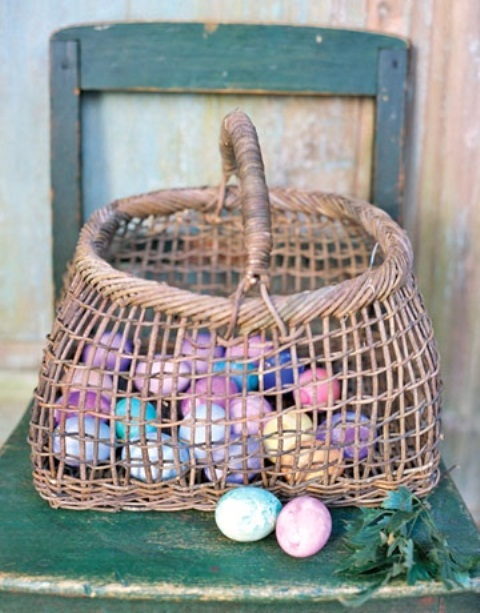 31 Inspiring Rustic Easter D Cor Ideas Digsdigs