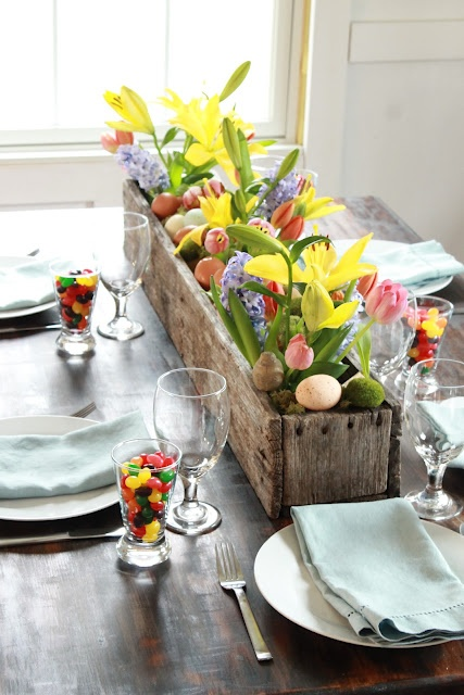 31 Inspiring Rustic Easter Décor Ideas - DigsDigs