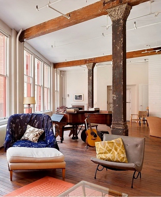 Inspiring Shabby Chic Loft With Rustic And Bohemian Touches
