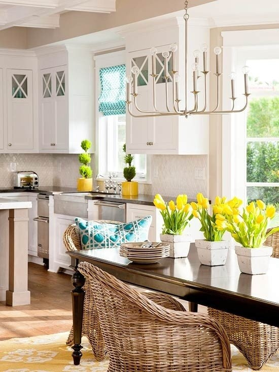 39 inspiring spring kitchen d cor ideas digsdigs for Kitchen decoration photos