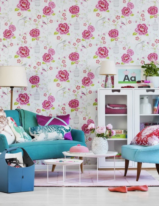 Inspiring Vivacious Living Room Interior Design