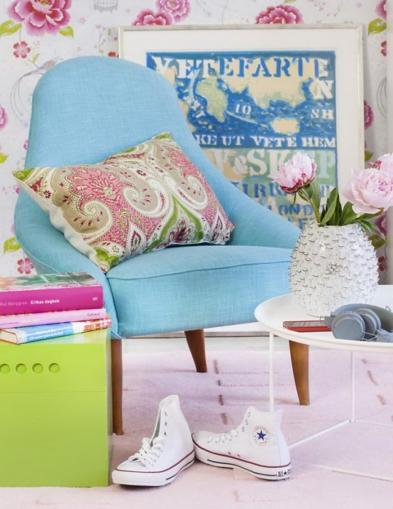 Inspiring Vivacious Living Room Interior